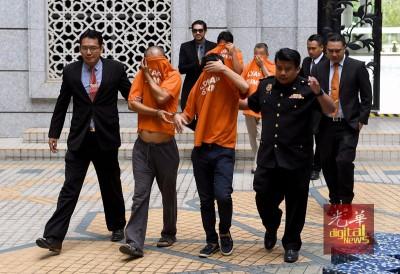 洗州大臣阿兹敏之侄子与其它3人口因为涉及涉及非法采砂活动,中反贪会延扣。