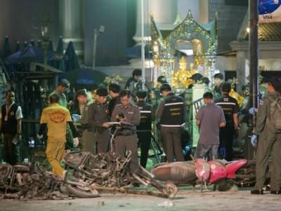 四面佛爆炸案导致多人口死。
