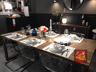 经过精心设计的家具摆设,让顾客籍此取得灵感。
