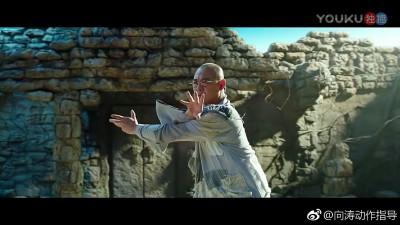 马云打得李连杰节节败退。
