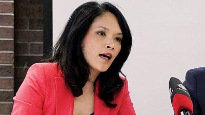 关慧贞当国会发表声明,谈及南京大屠杀。
