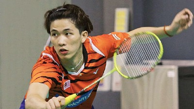 陈堂杰将与不同搭档出战明年的比赛。