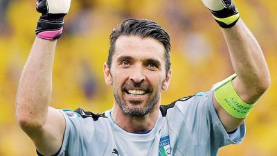 意大利足协将在明年6月为传奇门将布丰举办一场告别赛。