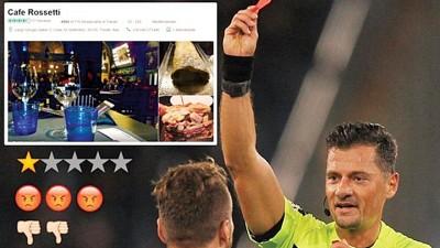 贾科梅利被球迷迁怒,传闻投资的餐厅因此遭殃被差评报复。
