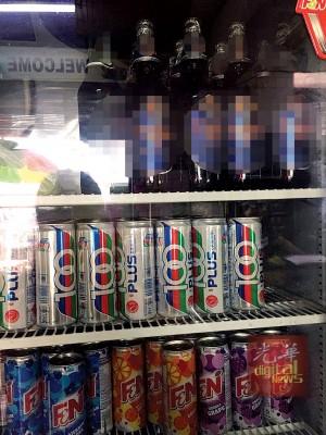 卫生部通融咖啡座与咖啡餐食业者把啤酒与不含酒精饮料分层放。
