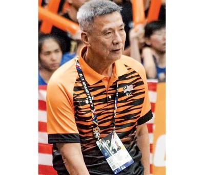 大马篮总主帅吴清发离任。