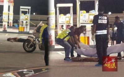 华青在油站惨遭刺杀复撞死事件,震惊社会。