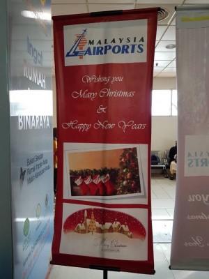 """大马机场控股公司摆乌龙,将""""Merry Christmas""""错拼成""""Mary Christmas"""",以及将""""Happy New Year""""错拼成""""Happy New Years"""",在社交媒体引发广泛讨论。"""