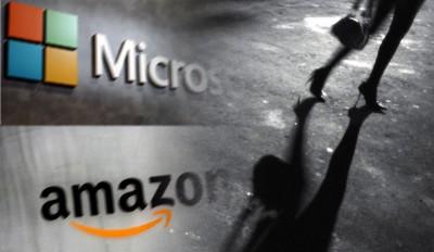 微软与亚马逊高级职员被揭发涉嫌「召妓」。