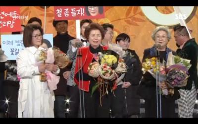 SBS演艺大赏由4位妈妈夺大奖。
