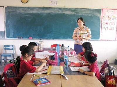 复级班计划未落实之前,尽管微型小学的学生人数不多,不过各年级是分班个别上课。