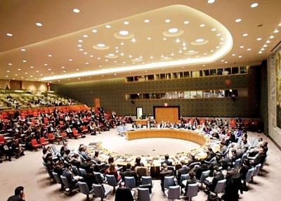 初一轮制裁朝鲜决议案或按全面交安理会。