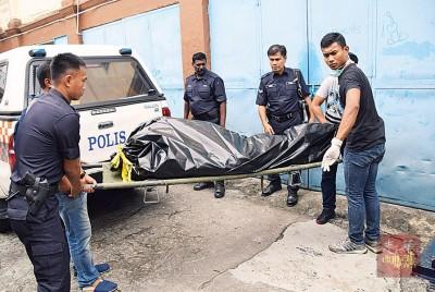 警员将死者遗体较后约下午1时已送往槟城医院太平间进行解剖。