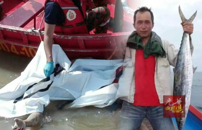 吉打港口于周一下午发现浮尸,疑是日前垂钓后失足掉入水中的林岳胜。