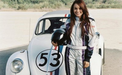 2005年翻拍上映《万能甲虫车》,林赛罗韩主演。