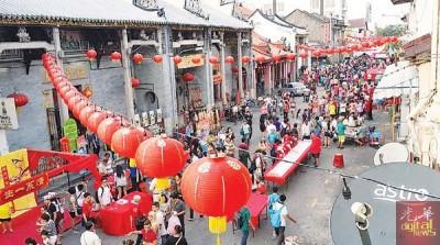 黄伟益担心,丢掉了摆,众多游客就未来槟城过年,槟州旅游业将为影响。