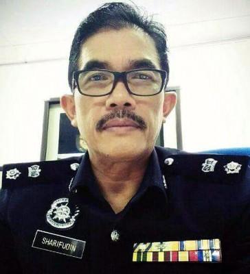 沙里夫丁警监。