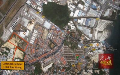 被建议作为旅巴及厂巴停放处的峇都茅地段占地80依格。