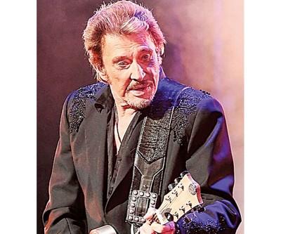 """""""法国猫王""""摇滚歌手Johnny Hallyday病逝。"""