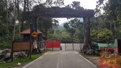 原定于周一能重开的督坤山因未接获马电讯的批准,仍未对外开放。