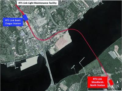 柔新捷运料2024年起营运 ,届时,马新之间的行程将缩短至30分钟。