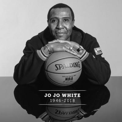 """""""绿军""""塞尔特人历史上的伟大球员JOJO·怀特。"""