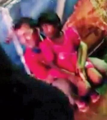 男子非礼女童视频在网络上疯传后,母亲愤怒报警抓人。