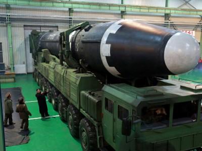 朝鲜早前成功试射火星15列洲际弹道导弹。
