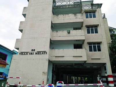 打枪埔Villa Sri Melati公寓于年前因水管爆裂而需缴付破万令吉的水费。