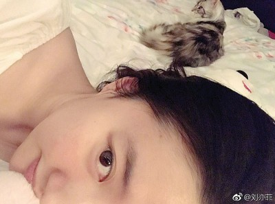 刘亦菲有素颜照。