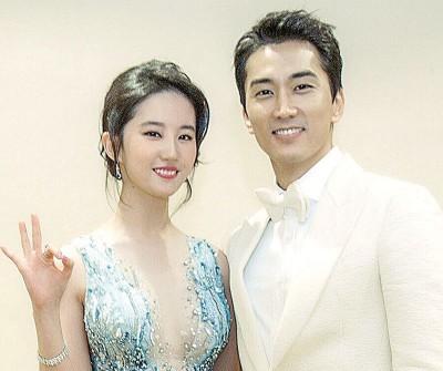 刘亦菲(左图)和宋承宪分别。