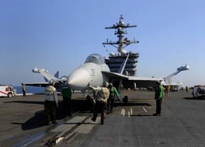 EA-18G的电子防御范围很大。
