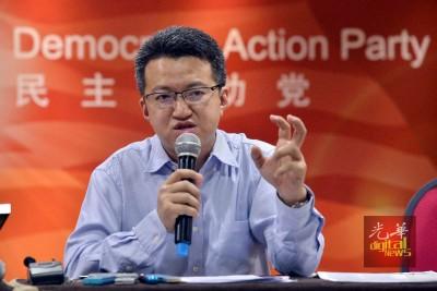 刘镇东:国阵有两条路可走。