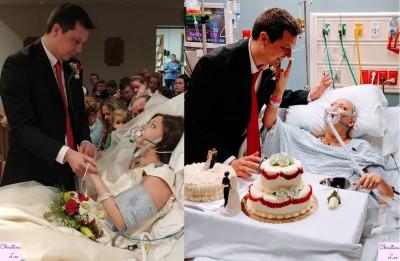 林赛在婚礼完结后18小时即不敌病魔离开人世。