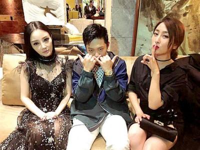 马苏为李小璐、PG One共同好友。