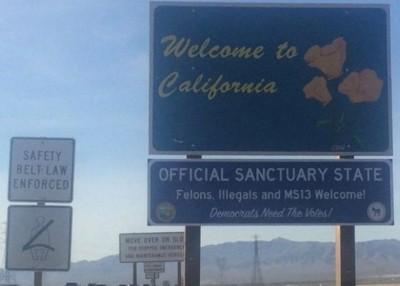 """加州成为美国史上首只专业的""""党州""""。"""