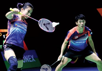 陈炳顺/吴柳莹愿意赢下仍赛季第二冠。