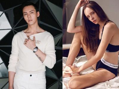 陈伟霆和巴西女模Bruna恋情浮上台面。