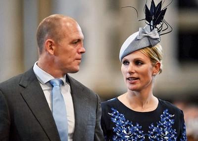 安妮公主女儿莎拉(希冀右)于周五发表有喜。