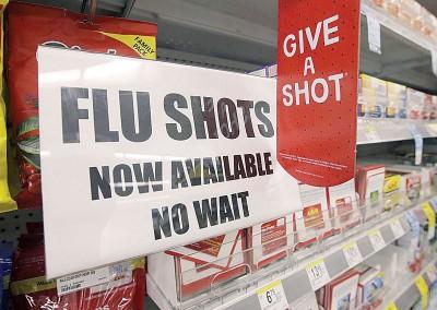 加州当局呼吁民众尽快接种流感疫苗。