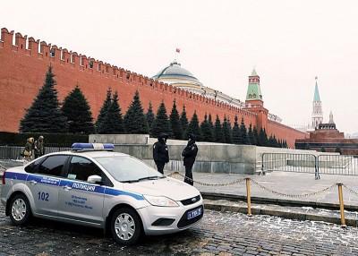 """""""舒适小熊""""于莫斯科红场总部附近的拍摄机,已经让荷兰的骇客入侵。"""