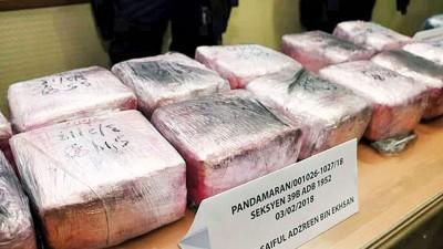 马印警方联手捣破一宗跨国贩毒集团案,并起获大量毒品。