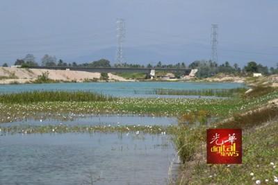 """这条河被当地居民称为""""蓝阿亚河""""。"""