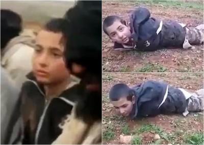 童兵受打在地上,未知其最终下场。