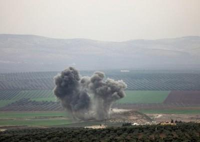 随便军近日于叙北朝库尔德人发动攻势。