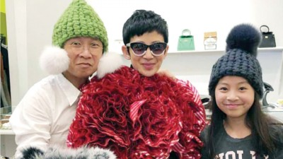 12岁的陈是知样子可爱。