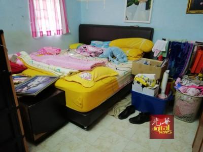死者高福英遇害的第二间睡房。