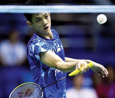 刘国伦表示,打球是因为喜欢比赛。