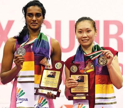 张蓓雯粉碎印度宠儿辛杜蝉联美梦,赢得职业生涯最高级别赛事的冠军。