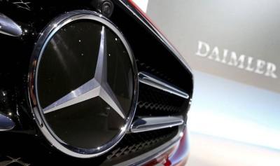 马赛迪汽车(Mercedes-Benz)母公司德国戴姆勒(Daimler)。 (路透社图片)